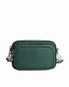 Nylon Mini Camera Bag Green