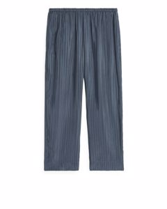 Cupro Trousers Blue