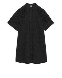 Broderie Anglaise Dress Black