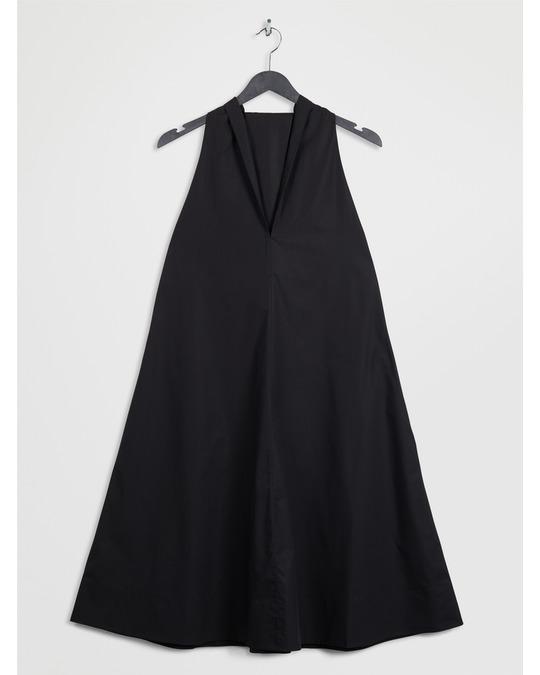 Arket Halter Dress Black