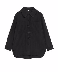 Lyocell Overshirt Black