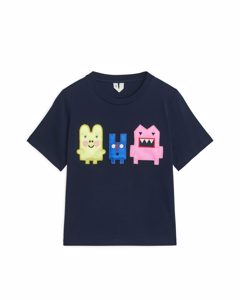 Monsters T-shirt Dark Blue