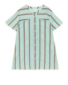 Kaftan Dress Turquoise