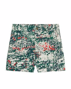 Chino Shorts Green/print