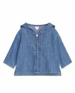 Denim Sailor Top Blue