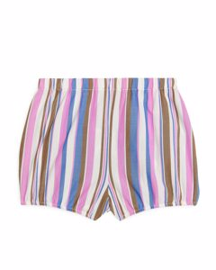 Organic Cotton Bloomers Blue/pink