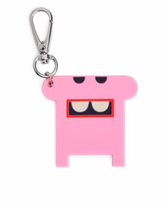 Monster Keychain Pink