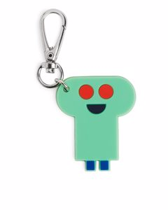 Monster Keychain Green