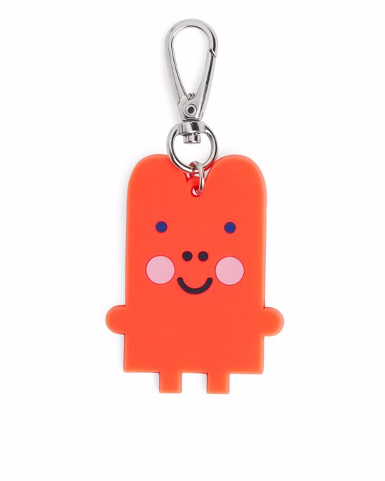 Arket Monster Keychain Orange