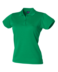 Henbury Womens/ladies Coolplus® Fitted Polo Shirt