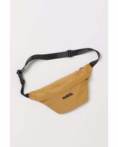 Hüfttasche mit Stickerei Dunkelgelb