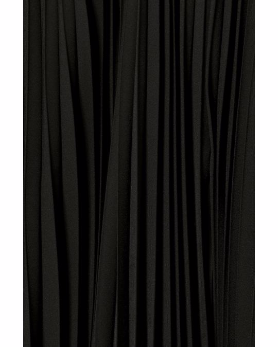 Weekday Pixie Pleated Trousers Black