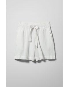 Hazel Shorts White