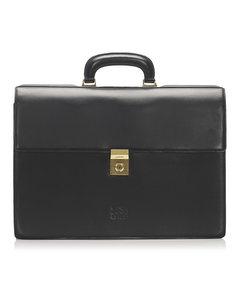 Loewe Leather Briefcase Black