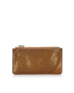 Louis Vuitton Vernis Pochette Cles Brown