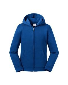 Russell Kids/childrens Authentic Zip Hooded Sweatshirt