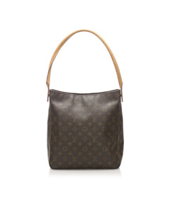 Louis Vuitton Monogram Looping Gm Brown