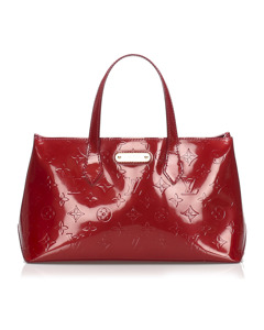 Louis Vuitton Vernis Wilshire Pm Red