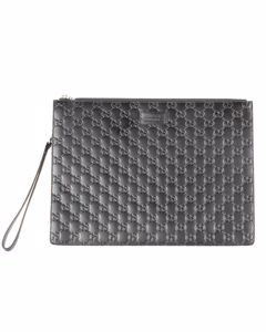 Guccissima Gg Wristlet Clutch Bag