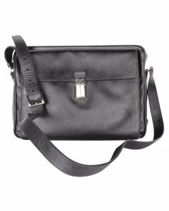 Black Saffiano Bandoliera Bag