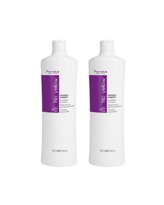 2-pack Fanola No Yellow Shampoo 1000ml