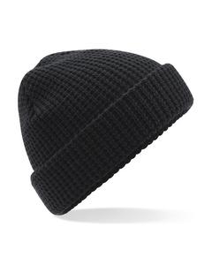 Beechfield Unisex Classic Waffle Knit Winter Beanie Hat
