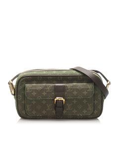 Louis Vuitton Monogram Mini Lin Juliette Green