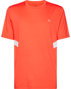 Short Sleeve T-shirt D Hot Coral