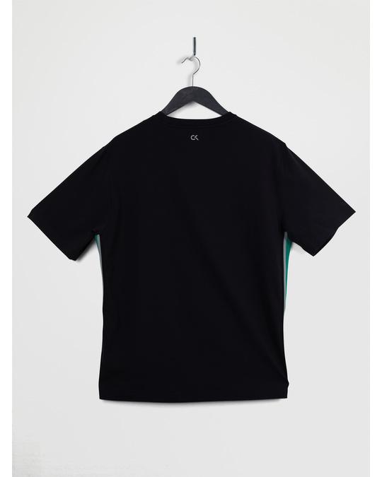 Calvin Klein Logo Ss Tee B Ck Black