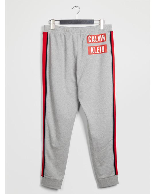 Calvin Klein Knit Pants D Lt Grey Htr