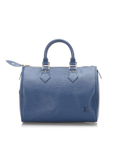 Louis Vuitton Epi Speedy 30 Blue