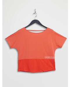 Short Sleeve T-shirt B Hot Coral