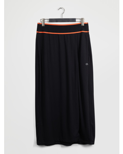 Midi Skirt Ck Black/fiery Coral