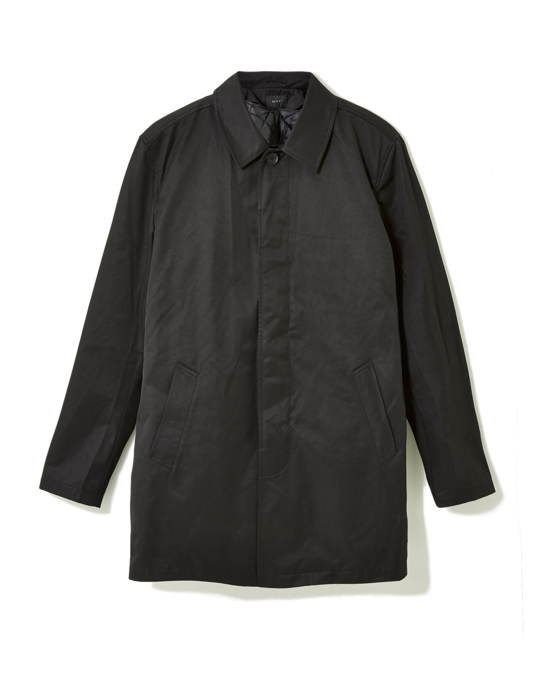 MVP Lowell Cotton Mix Car Coat Black
