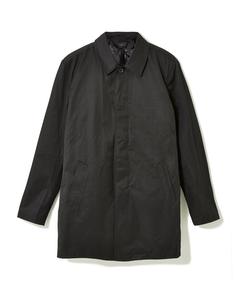 Lowell Cotton Mix Car Coat Black