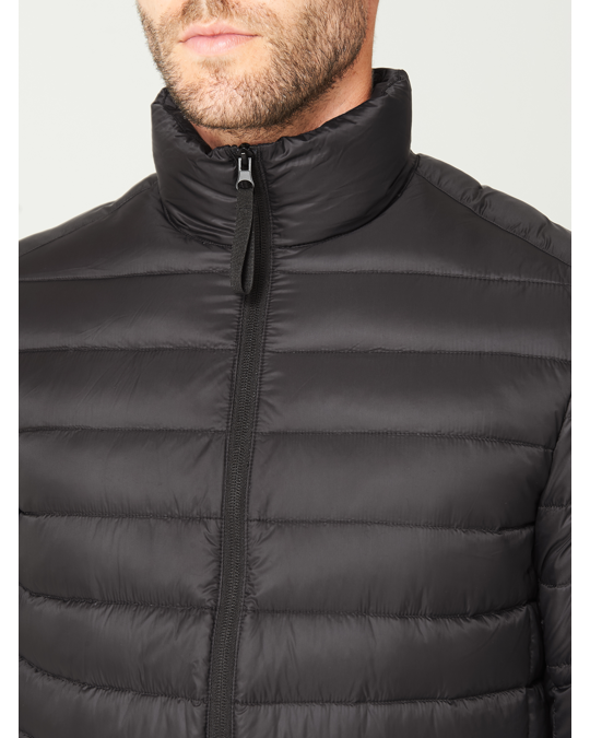 MVP Nelson Quilted Down Jacket Black