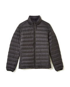 Nelson Quilted Down Jacket Black