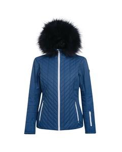 Dare 2b Womens/ladies Icebloom Faux Fur Trim Luxe Ski Jacket