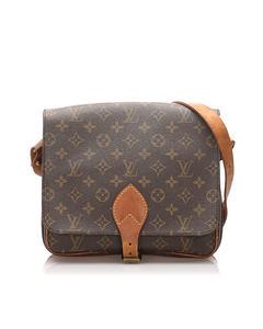 Louis Vuitton Monogram Cartouchiere Gm Brown