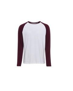 Sols Mens Funky Contrast Long Sleeve T-shirt