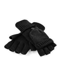Beechfield Volwassenen Unisex Fliptop Gebreide Winterhandschoenen