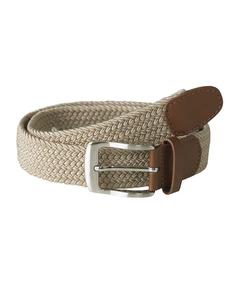 Duke Mens Frank King Size Stretch Braided Belt