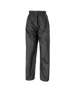 Result Mens Core Stormdri Rain Over Trousers / Pants