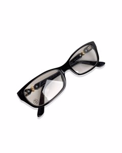 Cartier Paris Full Rim Black Womens Eyeglasses T8100999 55-15 140mm