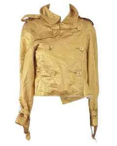 Metallic Gold Jacke