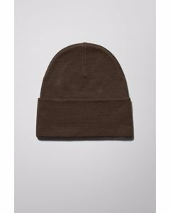 Icon High Top Beanie Brown