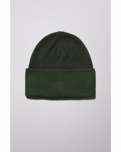 Icon High Top Beanie Green