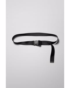 Carter Webbing Belt Black