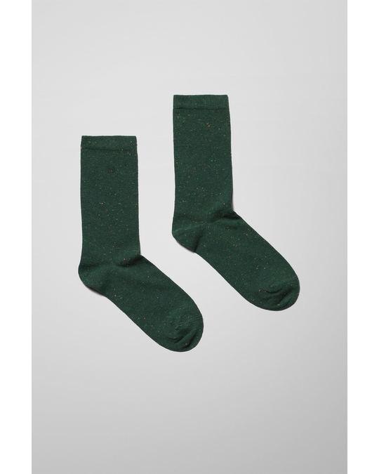 Weekday Bob Neps Socks Green