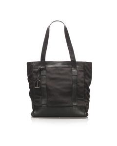 Gucci Nylon Tote Bag Black
